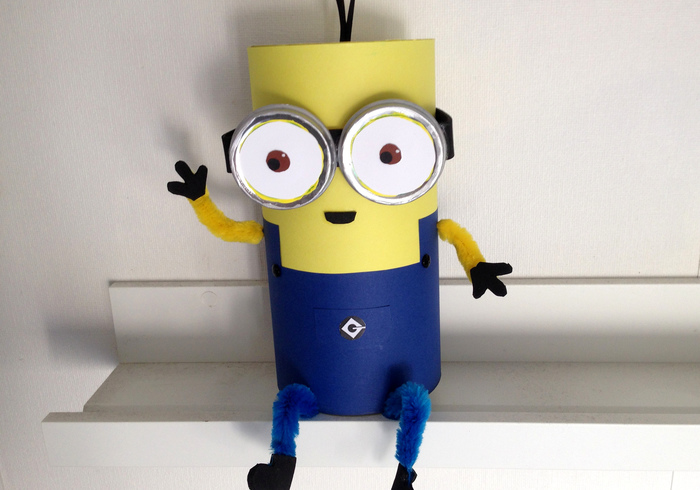 Minion surprise home