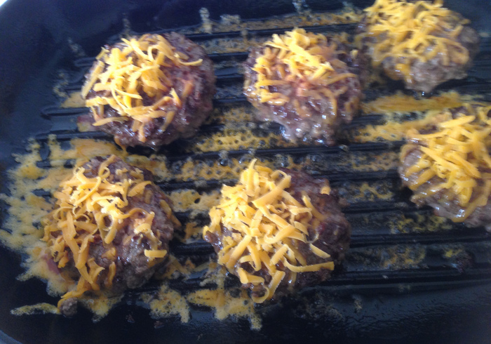 Bacon cheese burgers 10