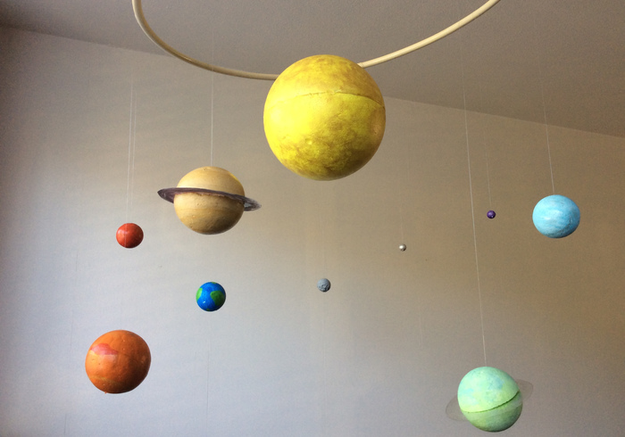 Solar system home