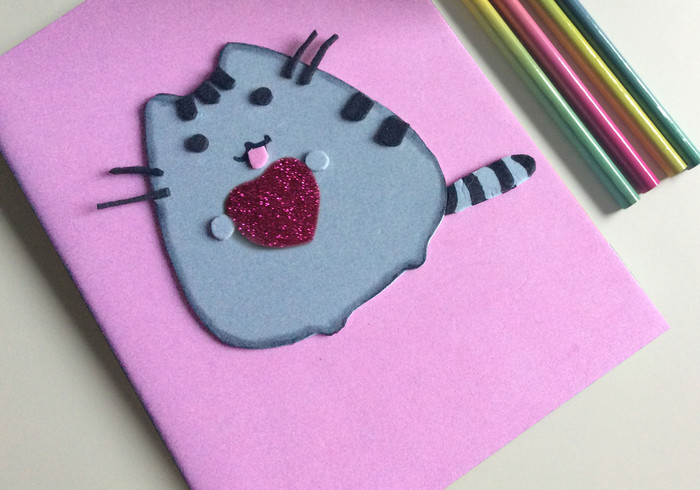 Pusheen agenda home