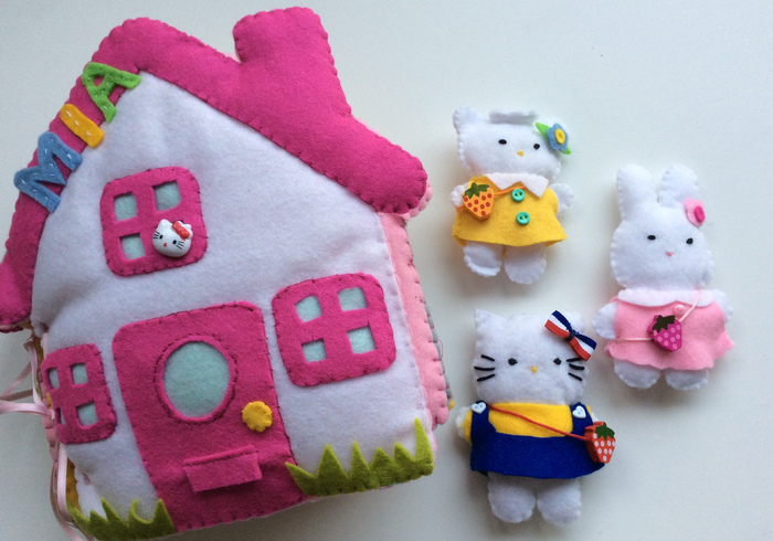 Hello kittylll home