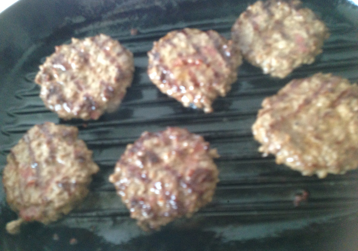 Bacon cheese burgers 09