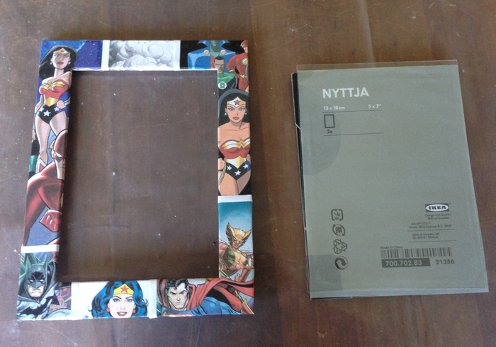 Super woman picture frame 05