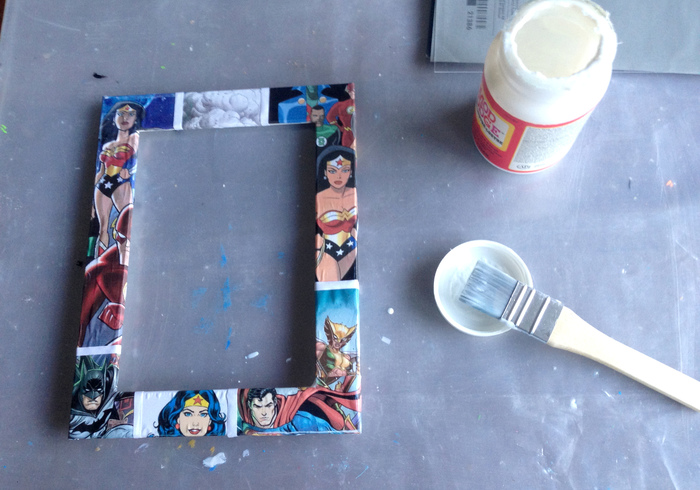 Super woman picture frame 07