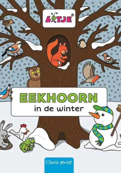 Eekhoorn in de winter 01