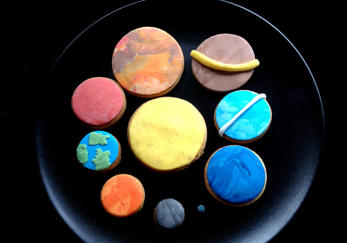 We bake planet biscuits