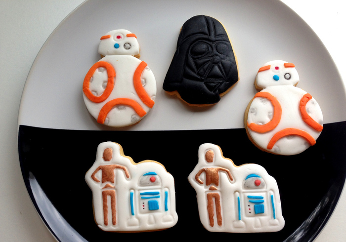 Star Wars biscuits