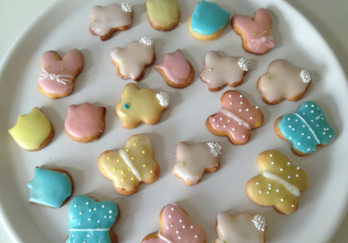 Cute little Easter biscuits