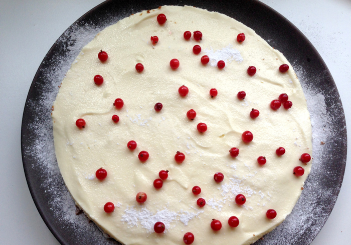 The no bake cheesecake